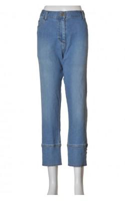 Pantaloni denim La Redoute, talie ajustabila, marime XL