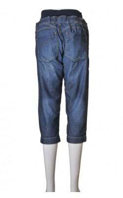 Pantaloni denim Mamalicious, marime 36
