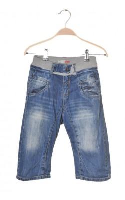 Pantaloni denim subtire Name It, talie ajustabila, 7-8 ani
