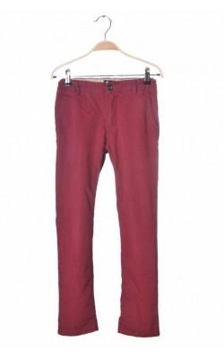 Pantaloni din bumbac Cubus, talie ajustabila, 10 ani