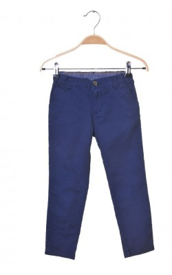 Pantaloni din bumbac H&M, talie ajustabila, 4-5 ani