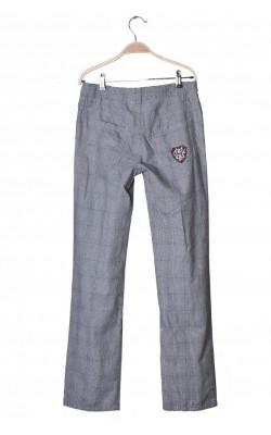 Pantaloni din bumbac Tommy Hilfiger, talie ajustabila, 16 ani