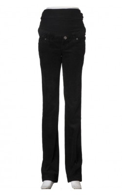 Pantaloni drepti din velur H&M Mama, marime 36