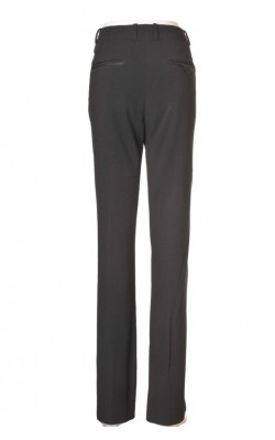 Pantaloni drepti H&M, vipusca satin, marime 40
