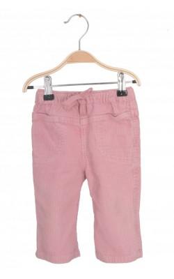 Pantaloni Ele Mini, velur. 6 luni