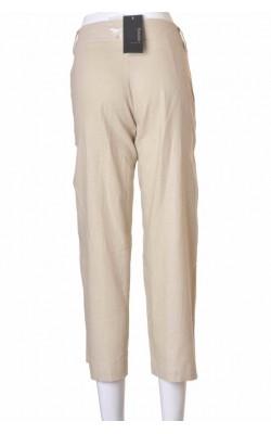 Pantaloni Estelle, in si vascoza, broderie picior, marime 38