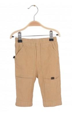 Pantaloni Fefe Italy, velur, captusiti, 6 luni