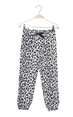 Pantaloni fleece animal print H&M, 6-8 ani