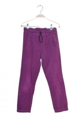 Pantaloni fleece mov Norheim, 10-11 ani