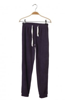Pantaloni fleece mov Wow and Me, 10-11 ani