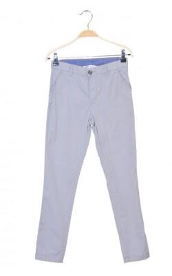 Pantaloni gri H&M, talie ajustabila, 9-10 ani