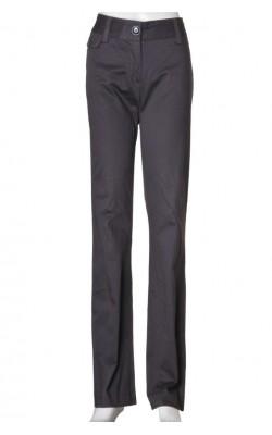 Pantaloni gri petrol H&M, croi drept, marime 38