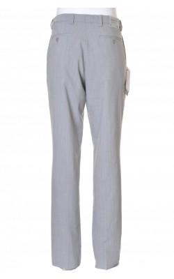 Pantaloni gri Sunwill, stofa amestec lana, marime 48