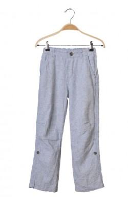 Pantaloni H&M, amestec in, talie ajustabila, 8 ani