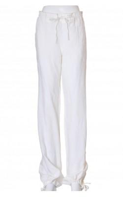 Pantaloni albi de in H&M, marime 42