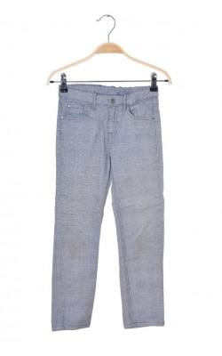 Pantaloni H&M, talie ajustabila, 7-8 ani