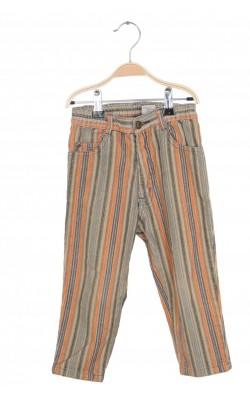 Pantaloni H&M, velur, 2 ani