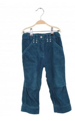 Pantaloni catifea reiata Impidimpi, talie ajustabila, 5 ani