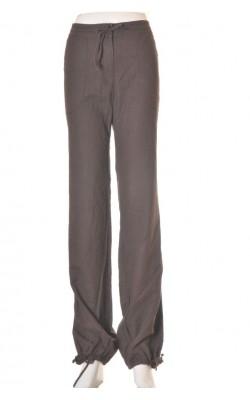Pantaloni in si bumbac H&M, marime 44