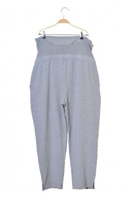 Pantaloni jerseu gri H&M Mama, marime XL