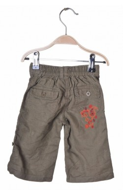 Pantaloni kaki cu broderie Mothercare, amestec in, 3-6 luni