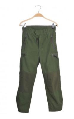 Pantaloni kaki Dovrefjell, mix panza si softshell, 8 ani