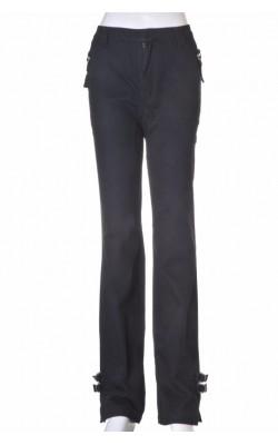 Pantaloni Lisa K, bumbac negru, marime 40