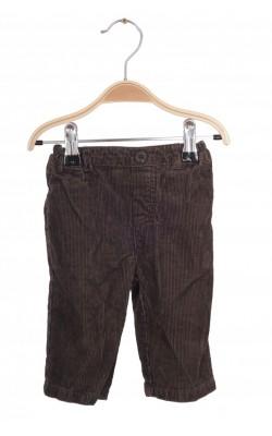 Pantaloni Lullaby Club, velur, 6 luni