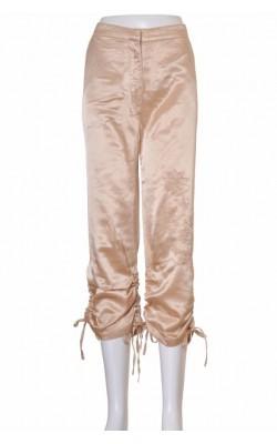 Pantaloni satin Marine Bleu, marime 40