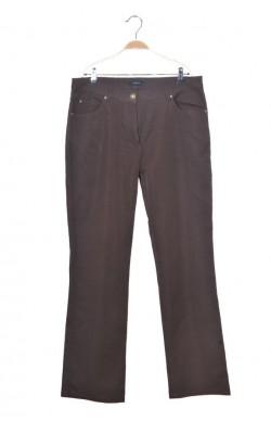 Pantaloni maro croi drept Intown, marime 46