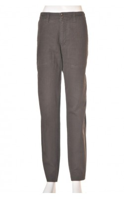 Pantaloni maro Massimo Dutti, marime 44