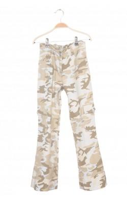 Pantaloni print army, 10-14 ani