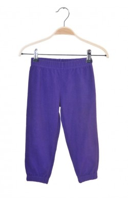 Pantaloni mov fleece Line One, 2 ani