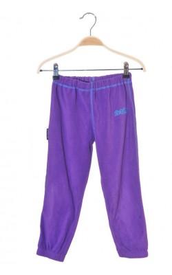 Pantaloni mov fleece Skogstad, talie ajustabila, 5-6 ani