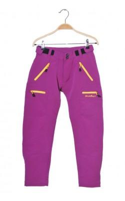 Pantaloni mov softshell Summit, talie ajustabila, 8-9 ani