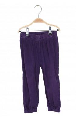 Pantaloni mov velur Mads&Mette, 1.5-2 ani