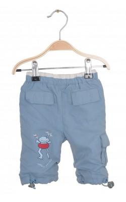 Pantaloni Name It, impermeabili, captusiti, 0-1 luni