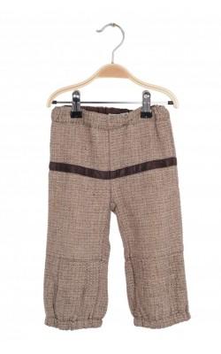 Pantaloni captusiti Name It, stofa lana, 3 ani