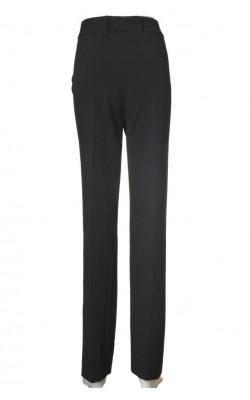 Pantaloni negri Andrea by PM Norway, croi drept, marime 50
