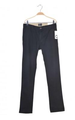 Pantaloni negri Cubus, talie ajustabila, 13 ani