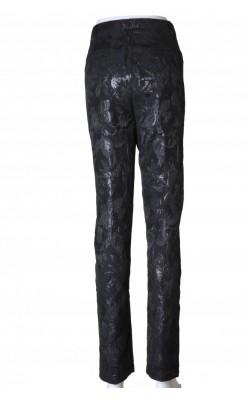 Pantaloni negri din brocart Ane Mone, marime 44