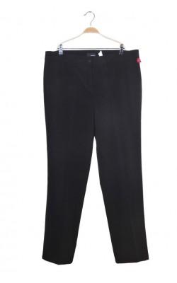 Pantaloni negri drepti Andrea, talie normala, marime 50
