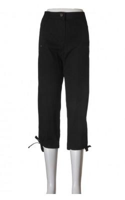 Pantaloni negri Evita, bumbac, marime XXL