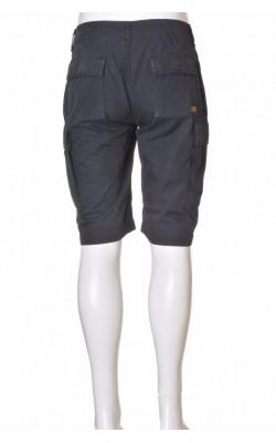 Pantaloni negri G-Star, Cover Bermuda, marime XS