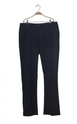 Pantaloni negri Lindex, croi drept, marime 46