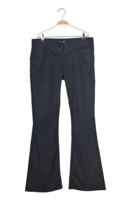 Pantaloni negri mix bumbac H&M, marime 42