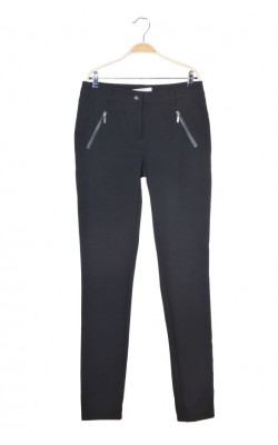 Pantaloni negri pana la glezna Fransa, marime 40