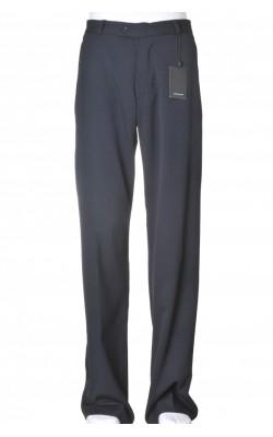 Pantaloni negri Selected, stofa lana, marime 34
