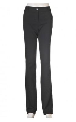 Pantaloni negri Stockh Lm, croi drept, marime 42