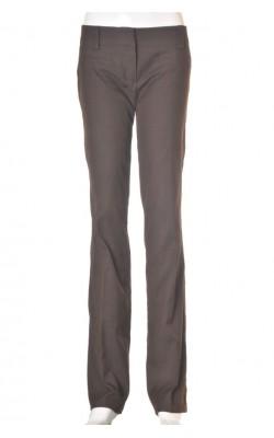 Pantaloni office Vero Moda, maro inchis, marime 38